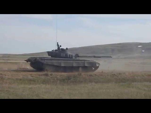 88-летний ветеран ВОВ на танке Т-72