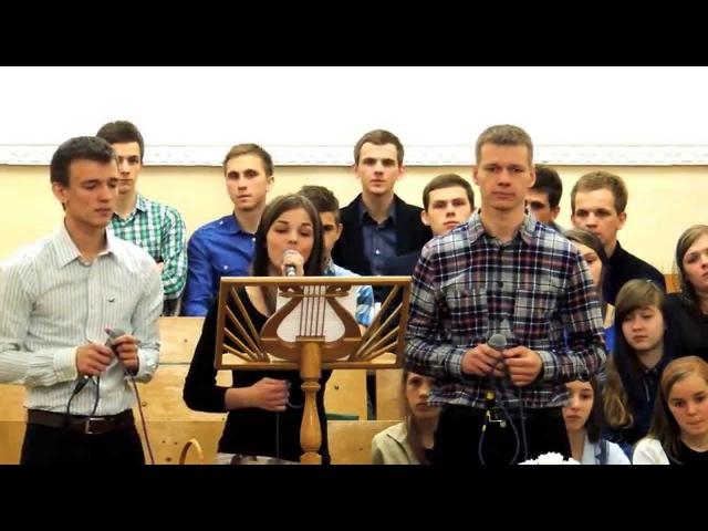Спів хористів 3-ого Молодіжного хору 18.04.15