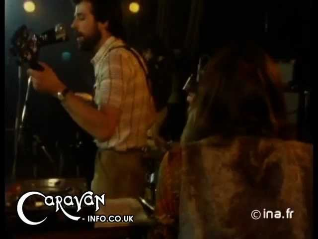 Caravan Live at the Bataclan [1973] (Pop Deux - French TV)