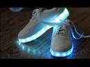 ☼Кроссовки с LED подсветкой обзор☼