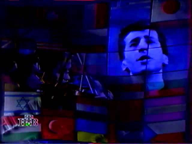 НТВ рекламные блоки и заставки 1995