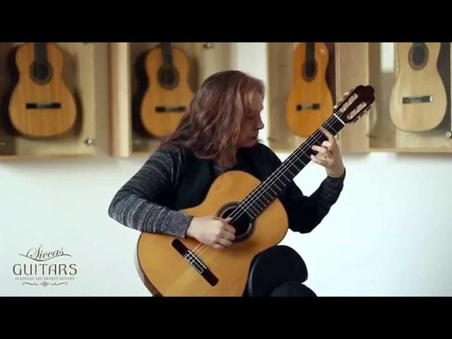 Nora Buschmann plays Prelude No. 5 by Heitor Villa Lobos on 1999 Paco Santiago Marin