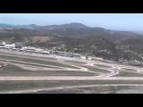 Аэропорт Сочи с высоты птичьего полета во время Олимпийских игр 2014