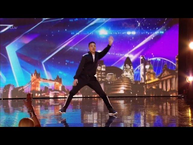 Britain's Got Talent 2016 S10E03 Balance Incredible Dancer Full Audition