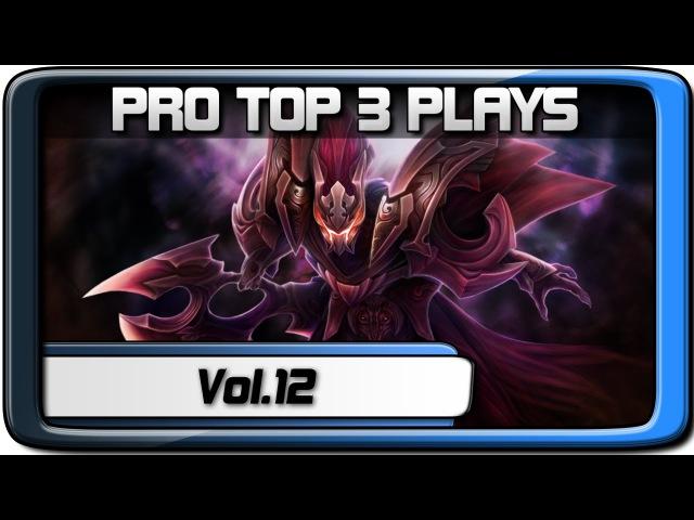 PRO TOP 3 PLAYS 12 | Demons - Wagamama - YaJiTsU | Dota 2