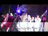 Hillary Duff , Haylie Duff leave the Justin Bieber Concert in L.A.