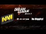 NaVi vs No Diggity! #2 (bo2)   DreamLeague Season 5, 05.04.16