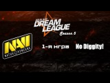 NaVi vs No Diggity! #1 (bo2) | DreamLeague Season 5, 05.04.16