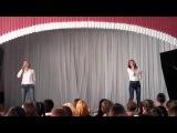 Стеклянникова Елена и Кузьмина Надежда - Это песня простая (cover - Iowa)