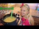 Kid Size Cooking Broccoli Cheddar Soup