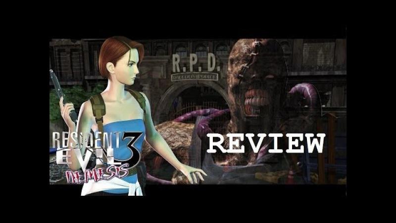 Resident Evil 3 Nemesis 1999 обзор от РокДжокера
