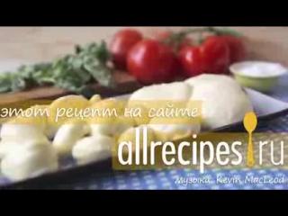 МОЦАРЕЛЛА Как приготовить сыр моцарелла в домашних условиях Видеорецепт