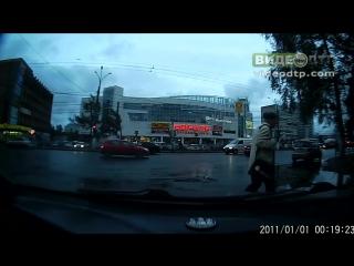 Сильная авария рядом с ночным клубом Матрица | ДТП авария