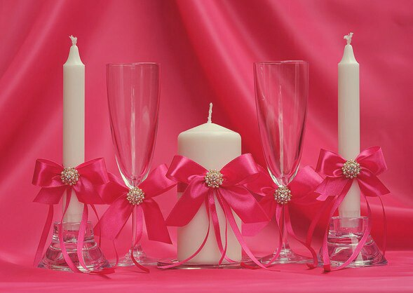 Свадебные аксессуары на свадьбу своими руками
