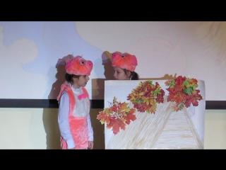 """""""Три поросенка"""" Наш первый спектакль на английском языке!!! Мои маленькие актеры самые лучшие!!!)))"""