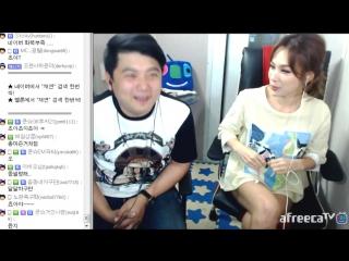 [1] 섹시 아이콘! 채연(Chae Yeon)과의 실내 합동방송! - KoonTV