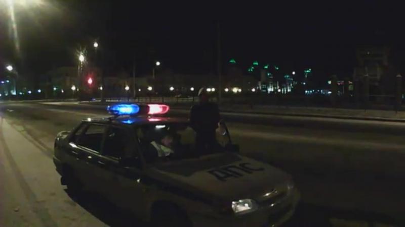 задержание нетрезвого водителя по звонку в дежурную часть ГИБДД