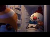 Новые Мультики 2015 -  Лили и Снеговик ( Смотреть Рождественские Мультики ) HD