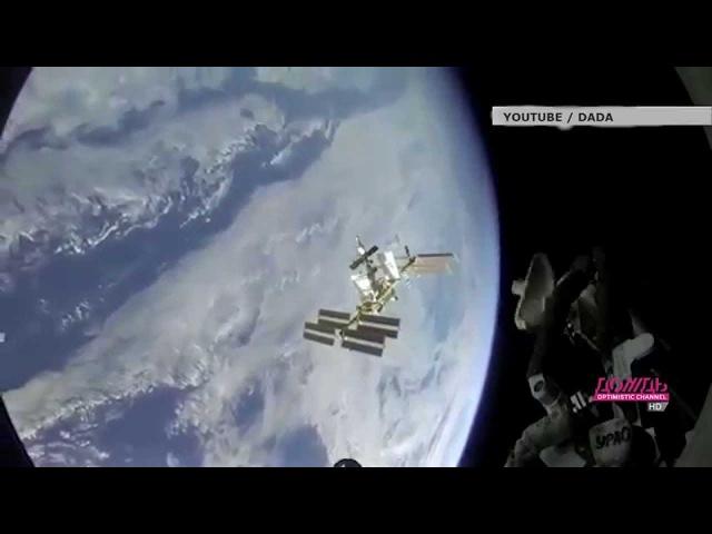 Стыковка Союза с МКС Ускоренное видео под музыку Иоганна Штрауса