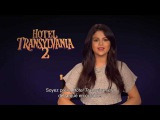 Selena Gomez Tells Fans To Get Ready For Hotel Transylvania 2 In October | HD