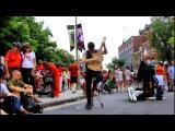 Tom Ward, guitar artist's street performance in Ottawa 1