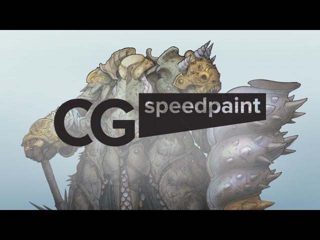CG Speedpaint Александр Little Druid Печенкин № 2