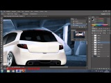 Renault Sport Clio RS 2011 Virtual Tuning Photoshop