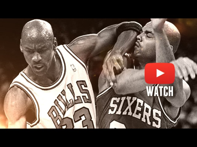 Michael Jordan 37pts Scottie Pippen 29pts Sends Charles Barkley to Home (1990 ECSF Game 5)