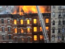 HD Video of Fire and Major building collapse 2nd Ave 7th Street NYC - March 26, 2015