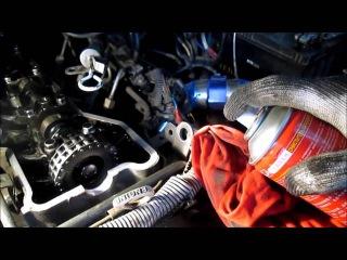 Замена прокладки клапанной крышки Delica ,replacing the valve cover gasket