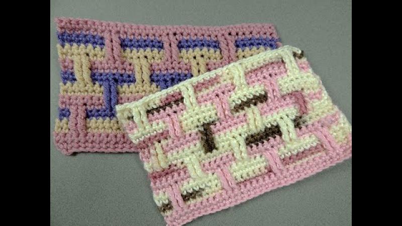 Crochet : Punto Ladrillo