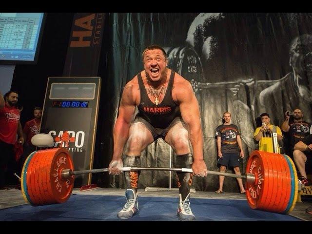 Mikhail Koklyaev Deadlift on GPA WPC 2014 (390, 410, 422,5-)