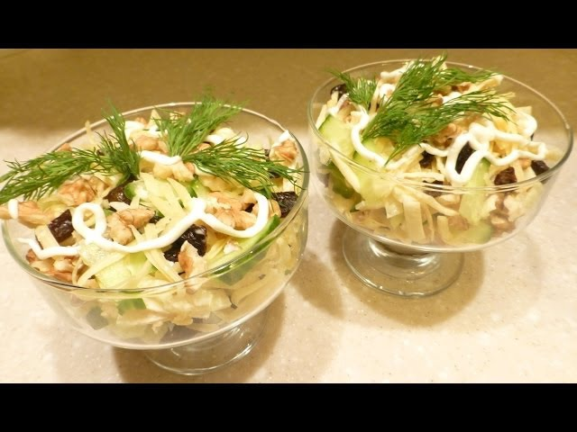 Салат НЕЖНОСТЬ. Готовим вместе с YuLianka1981 Salad Tenderness