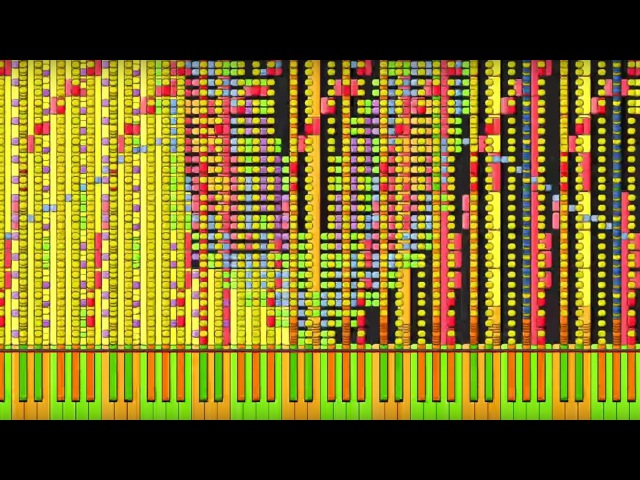 [Black MIDI] Synthesia – Soul Eater - Resonance 6 million   Impossible Remix ~ BusiedGem
