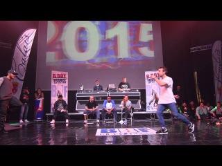 BBOY FRANCE 2015 - 1/8 - Kamil (Subskillz) vs Ness (OSK) - The COAL©