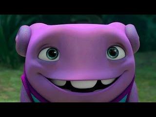 Новый мульт про пришельцев «Дом» 2015 / Смотреть трейлер на русском языке