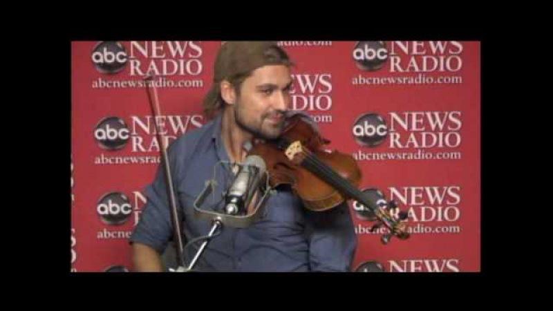 Violinist David Garrett on ABC News Radio