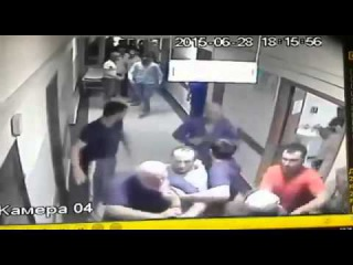 Драка в 9-ой городской больнице г. Грозный