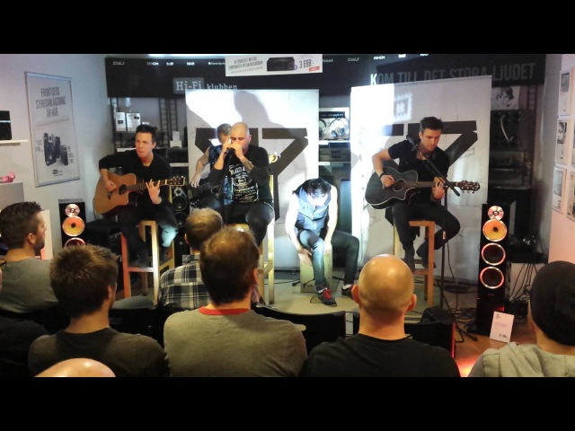 Smash into Pieces A Friend Like You Acoustic live at HiFi Klubben