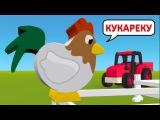 Как говорят животные. Развивающий мультфильм для детей. Учим голоса и звуки живо...