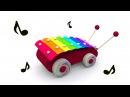 Учим ноты для детей. Развивающий мультик для самых маленьких. Игрушки для малыша