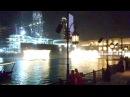 Танцующие фонтаны возле Бурдж Халифы в Дубаи