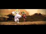 【MMD RPG】Shake it off【Froze & Yosafire】