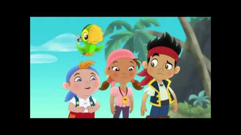 Джейк и пираты Нетландии Спасем коралловую бухту Подмена сундука сокровищ Серия 19 Сезон 1 смотреть онлайн без регистрации