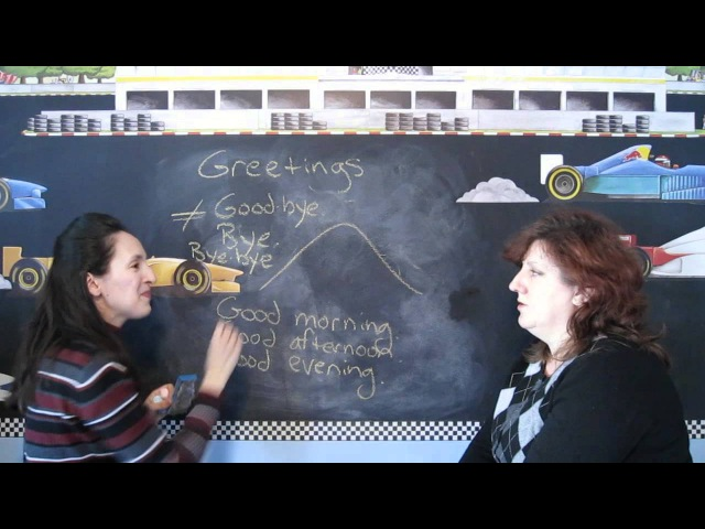 Lesson 3 Greetings Throughout the Day Learn English with Jennifer