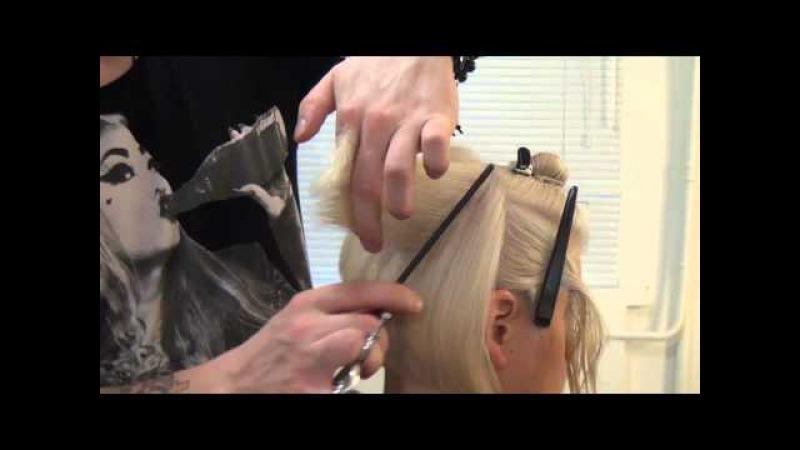 Урок для парикмахеров. Мастер-класс по стрижке боб каре. Артем Любимов. Прическа каре. Волосы.