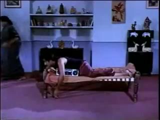 Indian pigmi break dancing