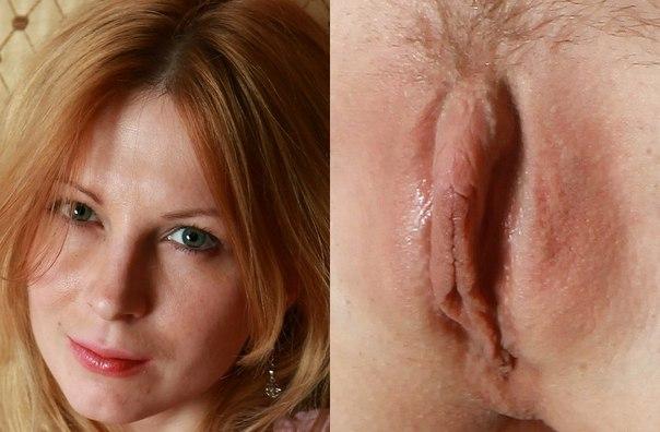 Рыжие вагины фото