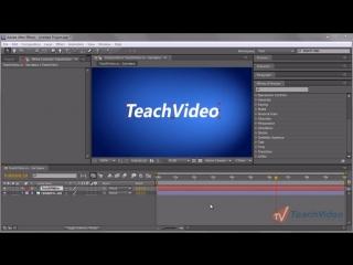 Практика After Effects® CS5 - Создаем заставку для ролика. ч.1