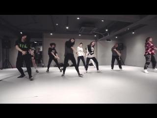 Mina myoung choreography  bitch better have my money - rihanna